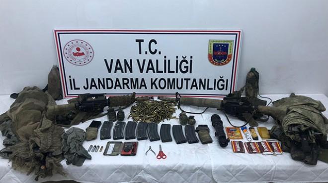 Van'da 1 PKK'lı ölü, 1 PKK'lı sağ ele geçirildi!