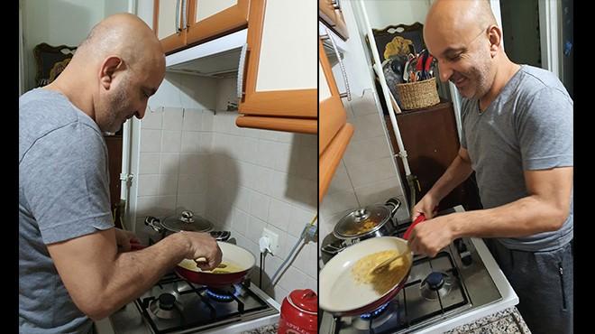 Vekil Polat'ın ev mesaisi: Akşam yemekleri benden!