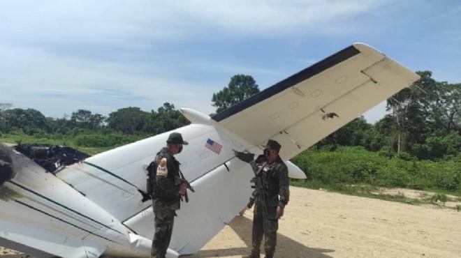 Venezuela ABD uçağını vurarak düşürdü!