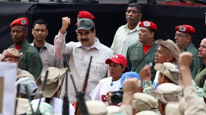 Venezuela'da milis gücü 2 milyonu aştı