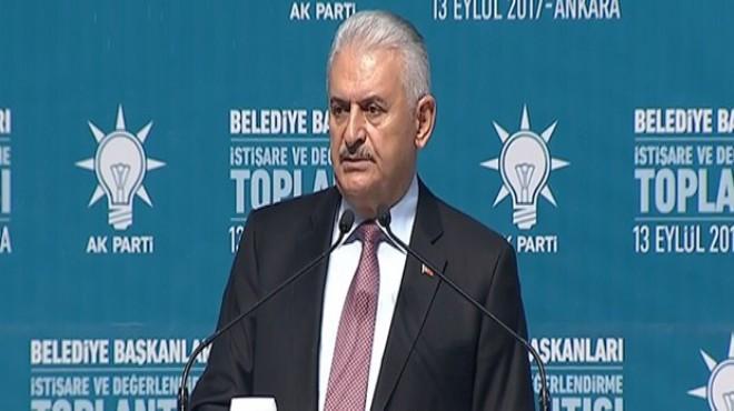 Başbakan Yıldırım yerel yönetimler zirvesinde konuştu: Karınca gibi çalışacağız