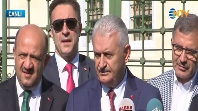 Başbakan Yıldırım'dan istifa açıklaması!