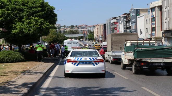 İzmir'de feci son: Karşıya geçerken can verdi!