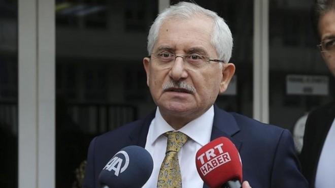 YSK Başkanı Güven'den seçmen listesi açıklaması!