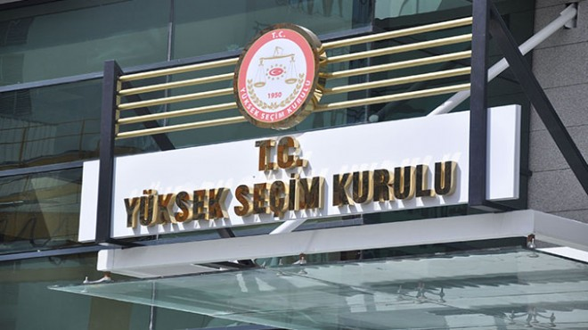 YSK'dan AK Parti'nin başvurusu ile ilgili karar