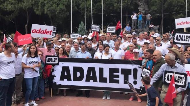Yürüyüşte 3. gün: CHP İzmir Saruhanlı'da