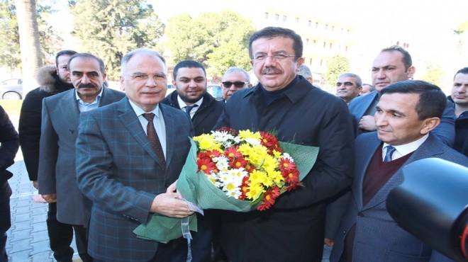 Zeybekçi'den Başkan Bakıcı'ya teşekkür ziyareti